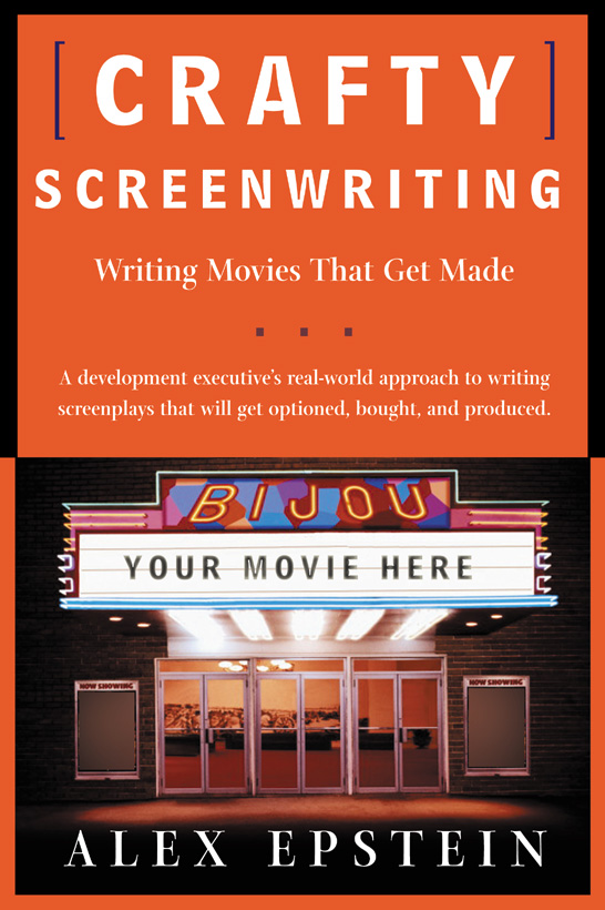 Crafty Screenwriting Cover